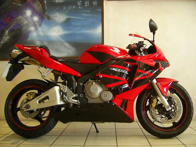 Red, Black, 2003 Honda CBR600RR