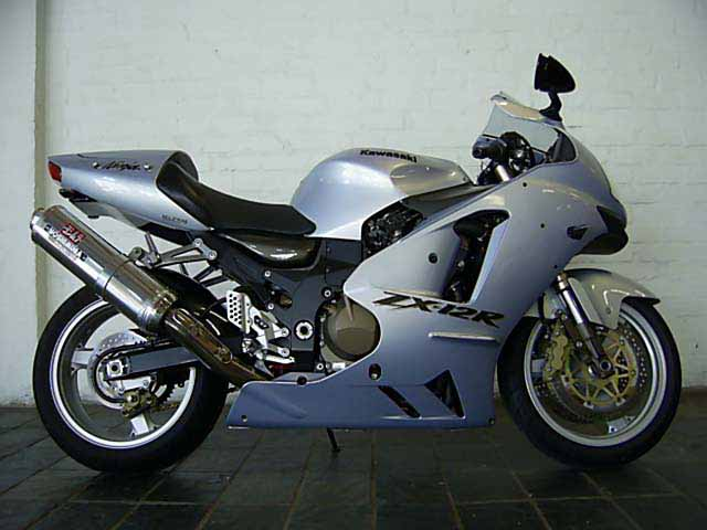 2003 Kawasaki ZX12R. Only 1200kms on the Clock