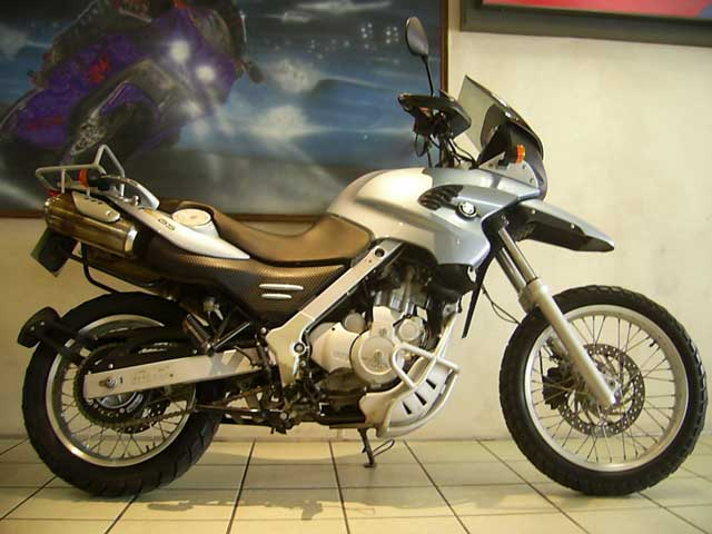 2005 Silver Blue BMW F650GS