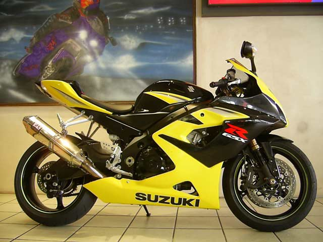 Yellow, Black, GSXR1000 K5