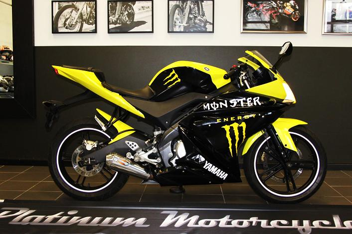 2010 Yamaha YZF 125 Monster