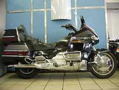 Black 1996 Honda GL1500 Goldwing